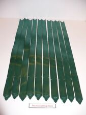 BERWICK BOW MAGIC PULL BOWS FOREST GREEN BUTTERFLY 4 INCH LOT OF 10 FREE SHIP