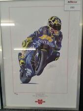 Valentino Rossi Moto GP Champion 2004 Print - 64/250