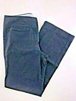 "Tommy Hilfiger Navy Blue Flat Front Full Leg Pants Size 6 30x29"""