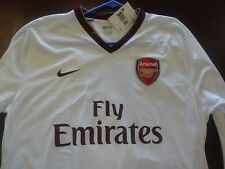 NWT new Authentic Nike 2008 Arsenal Player Issue L/S Jersey XXL adult