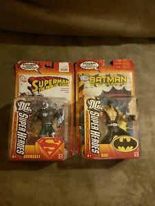 DC SuperHeroes DOOMSDAY & Bane Action Figure DCUC Universe Mattel 2008