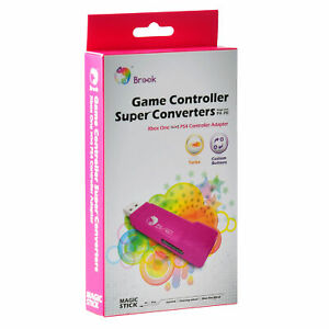 Brook Adapter for Xbox One to PS4 Gaming Converter Pink