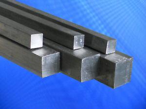Edelstahl Vierkantstab 1.4301 und 1.4305  Edelstahl Vierkant Vollmaterial Stahl
