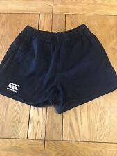 Mens Canterbury Shorts Size M Black Sports Shorts
