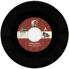 "THE NATURAL FOUR  ""I THINK I FOUND THAT GIRL c/w GET IT OVER WITH"" NORTHERN SOUL"