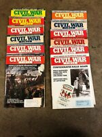America's Civil War Magazine Lot Of 12 1993 & 1994