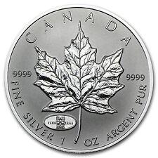 1998 Canada 1 oz Silver Maple Leaf RCM Privy - SKU #29279