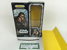 """replacement vintage star wars 12"""" chewbacca box + inserts"""