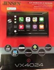 """Jensen Vx4024 2-Din 6.2"""" Bt Dvd Receiver Touchscreen w/ Apple Car Play Brand New"""