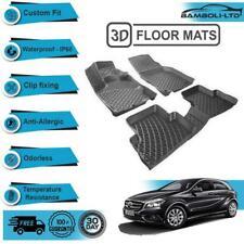 3D Molded Interior Car Floor Mat for Mercedes A Class W176 2012-UP(Black)