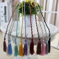 Cotton Tassel Rope Window Curtain Tie backs Binding Rope Tie Backs Home Decor