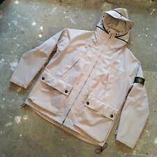 VINTAGE Stone Island peak hood jacket M MEDIUM (L XL XXL) green-edge grey