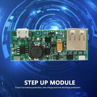 Li-ion Battery USB Charger Module 3.7V to 5V 1A Boost Step Up Voltage Converter