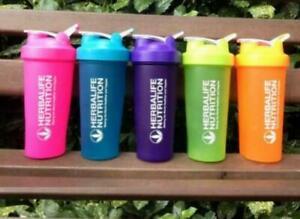 21OZ Herbalife Water Bottle BPA Free Drinking Plastic Fruit Sports Bottle Shake