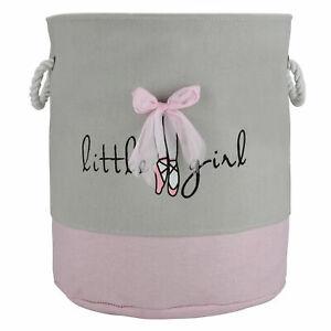 Handbag Baby Kid Toy Cotton Laundry Basket Washing Clothes Print Storage Bag