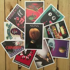 Movie Postcards Prints Alternative Foreign Poster Set of 10 Collectible