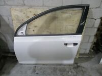 GENUINE 2008 VW GOLF TSI MK6 2007-09 LEFT FRONT DOOR SHELL White (Code:LB9A)