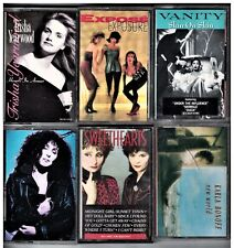 6 GIRL POWER CASSETTE LOT CHER VANITY KARLA BONOFF EXPOSE SWEETHEARTS RODEO MORE
