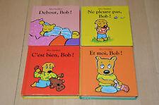 lot 4 livres D'Alex Sanders  : BOB - cartonnés avec rabats