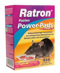 Frunol Ratron Pasten Power-Pads 29 ppm 30x15 g   Rattenköder Rattengift