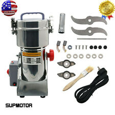 700g Grains Spices Hebals Cereals Coffee Dry Food Grinder Mill Grinding Tool Usa