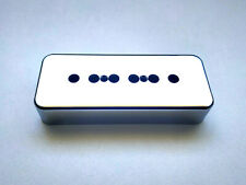 Cache Micro Chrome P-90 Plastic Chrome pickup Cover. Vintage Gibson SoapBar