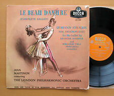 LXT 5149 Strauss Le Beau Danube Jean Martinon 1956 Decca Mono (no stereo) EX/VG