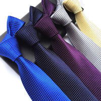 2019 Fashion Classic Formal Gentleman Mens Necktie JACQUARD WOVEN Polyester Ties