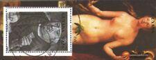 Guyana Bloque 100 (edición completa) usado 1990 pinturas
