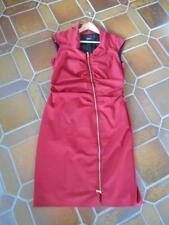 Damenkleid, rot, Blacky Dress, Größe 44 mit schräg verlaufenden Reißverschluss