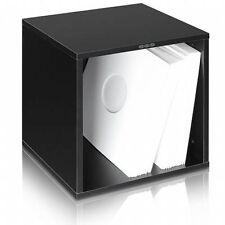 Zomo VSBox 12 Inch Vinyl Record Storage Box 100 (black, flat-packed)