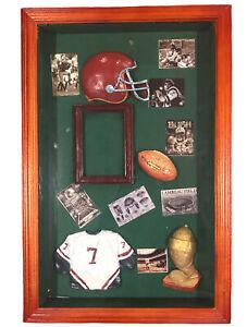 Shadow Box Kids' Room Decor Football Theme Photo Frame Keepsake