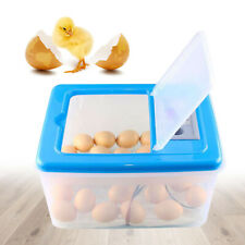 30W Egg Incubator 30-34x Chicken Hatcher Box Poultry Bird Parrot Eggs Brooder