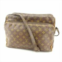 Louis Vuitton Shoulder bag Monogram Brown Woman Authentic Used Y3081