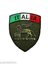 Patch Scudetto San Marco Italia Verde Marina Militare per Mimetica Vegetata
