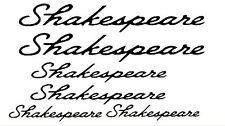 Shakespeare Stickers x 6 also a Bonus 4 Stickers Free