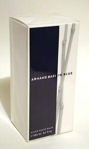 ARMAND BASI IN BLUE PERFUME'D AFTER SHAVE BALM 150 ML 5.1 OZ  NIB