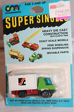 1970's Playart Charmerz Super Singles Box Delivery Truck, Mint on Card