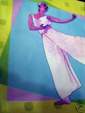 BALLET DANCER DANCING PURPLE VINYL SHOWER CURTAIN NEW
