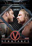 WWE WWF VENGEANCE 2005: HELL IN A CELL DVD (2005) Triple H Batista John Cena