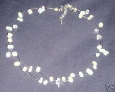 HAND MADE MOONSTONE ILLUSION NECKLACE