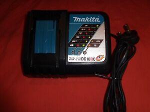 Makita DC18RC  Ni-MH & Li-ion 7.2-18V Battery Fast Charger