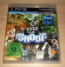 PLAYSTATION 3-The Shoot (Move) - tedesco ps3 NUOVO OVP