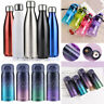 350-1000ML Water Vacuum Bottle Stainless Steel Drink Thermoses Cold Hot Sport