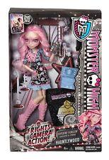 Monster High Frights Camera Action HAUNTLYWOOD VIPERINE GORGON Doll BDD85 - NEW