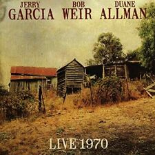 Jerry Garcia, Bob Weir, Duane Allman - Live 1970 (2017)  CD  NEW  SPEEDYPOST