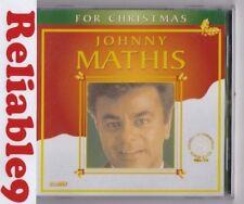 Johnny Mathis - For Christmas CD Sealed 10tracks Rare - 2009 Rainbow Australia