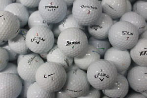 50 Titleist, Srixon, Callaway, Bridgestone, Nike, Taylormade, Other Golf Balls #