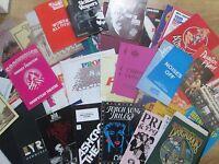 Large Selection of 1980's Theatre Programmes, Greta Scacchi, Alan Bates, Bennett