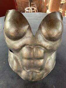 medieval armor Female breastplate , Hand Hammered